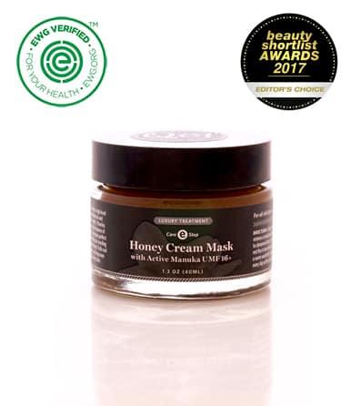 Honey Cream Mask with Active Manuka UMF 16+