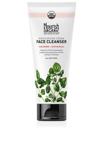 Nourish Organic Moisturizing Face Cleanser