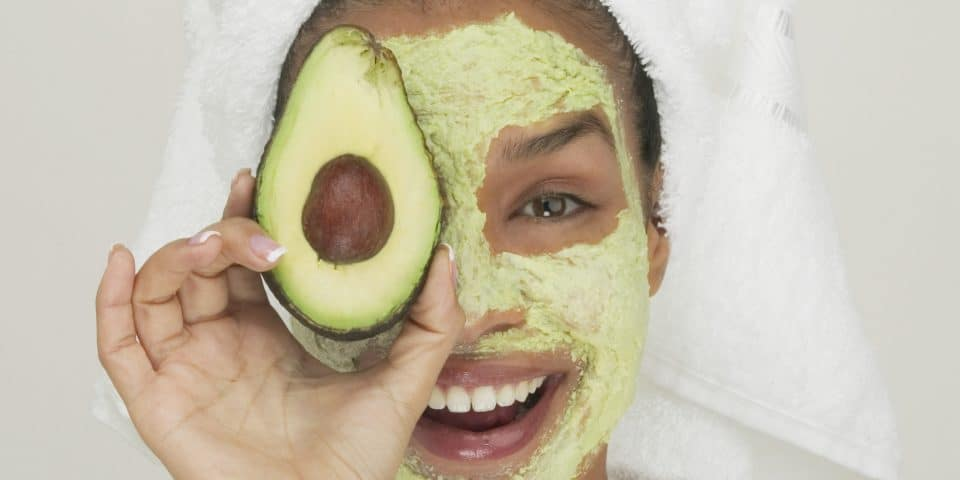 DIY Honey and Avocado Face Mask