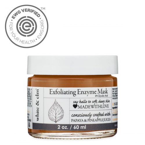 White & Elm Exfoliating Enzyme Mask
