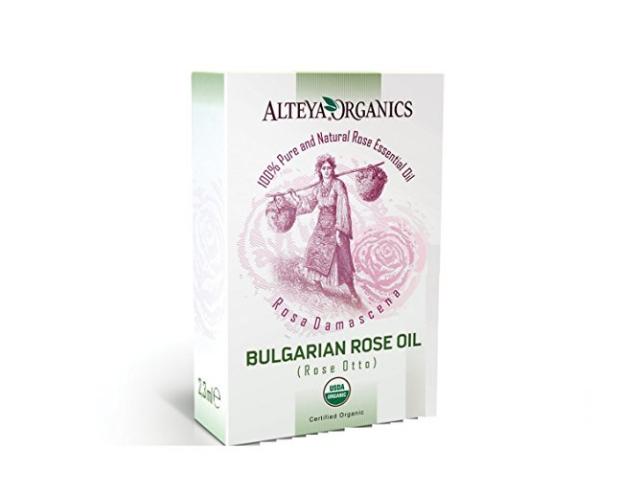 Pure USDA Organic Essential Bulgarian Rose Oil