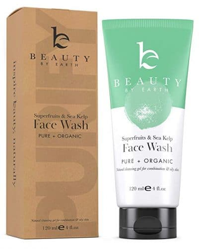 Beauty by Earth Superfruits and Sea Kelp Face Wash