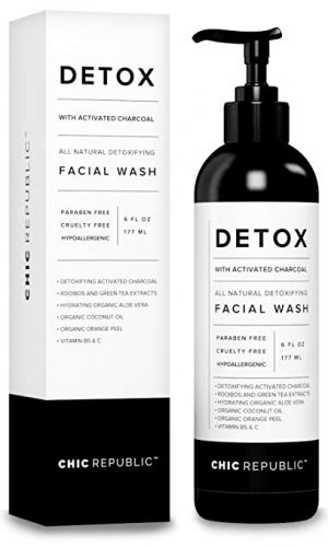 Detox Activated Charcoal Acne Facial Cleanser