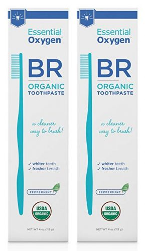 Essential Oxygen Certified Organic Toothpaste