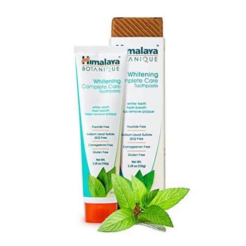 Himalaya Natural, Flouride-Free & SLS-Free Whitening Toothpaste