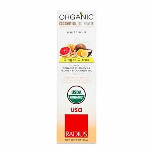 RADIUS Organic Coconut Oil Toothpaste