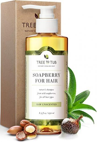 Tree to Tub Organic Moroccan Oil Shampoo