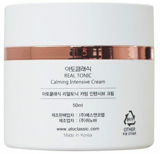 Atoclassic Real Tonic Calming Intensive Cream Back