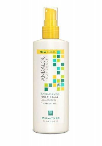 Andalou Naturals Sunflower & Citrus Brilliant Shine Hair Spray