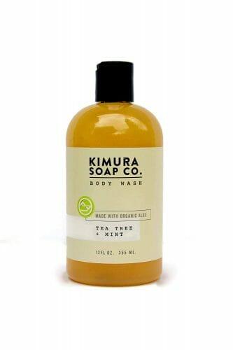 Kimura Soap Co. Tea Tree and Mint Body Wash