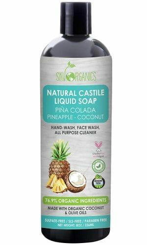 Sky Organics Pineapple Coconut Castile Soap