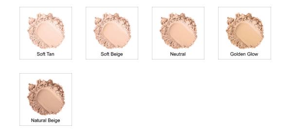 Rejuva Minerals Loose Powder Foundation Colors
