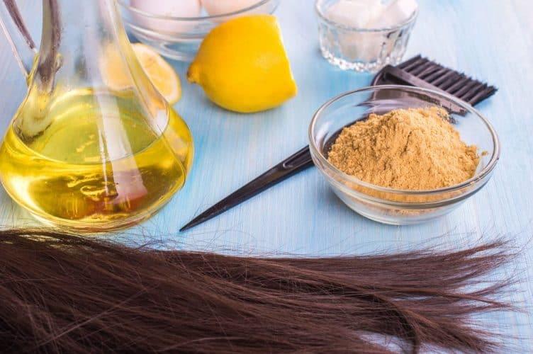 Honey and Lemon Hair Mask