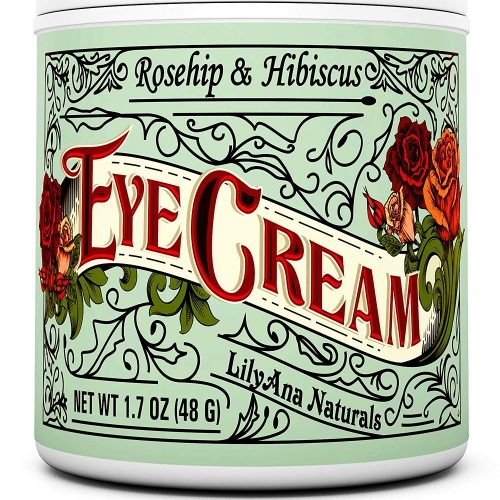 Lilyana Naturals Rose and Hibiscus Eye Cream
