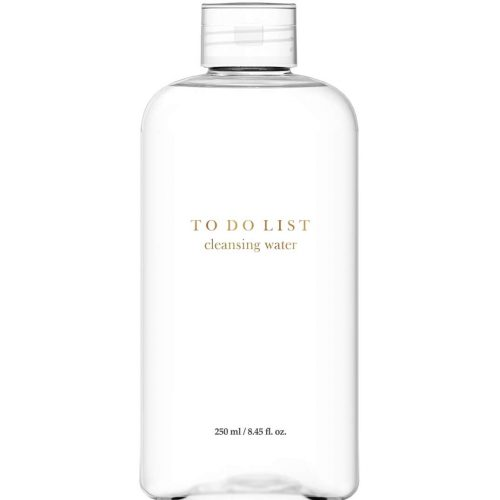 TO DO LIST Cleansing Water Micellar Water Makeup Remover