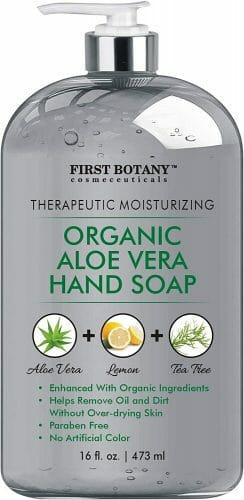 First Botany Organic Aloe Vera Hand Soap