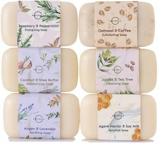 O Naturals Moisturizing Bar Soap Collection