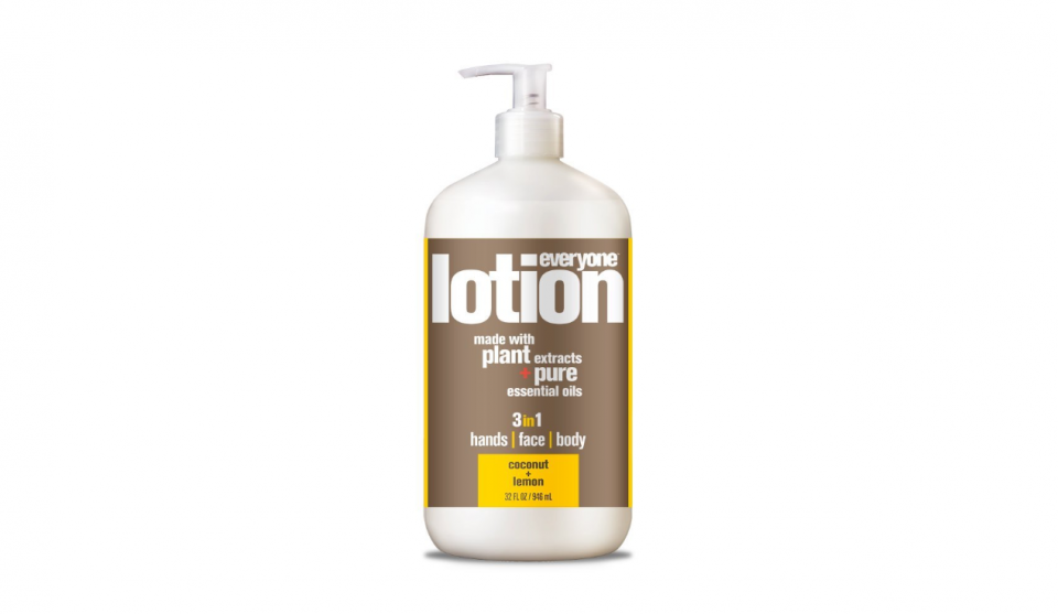 Everyone Lotion Coconut and Lemon Review