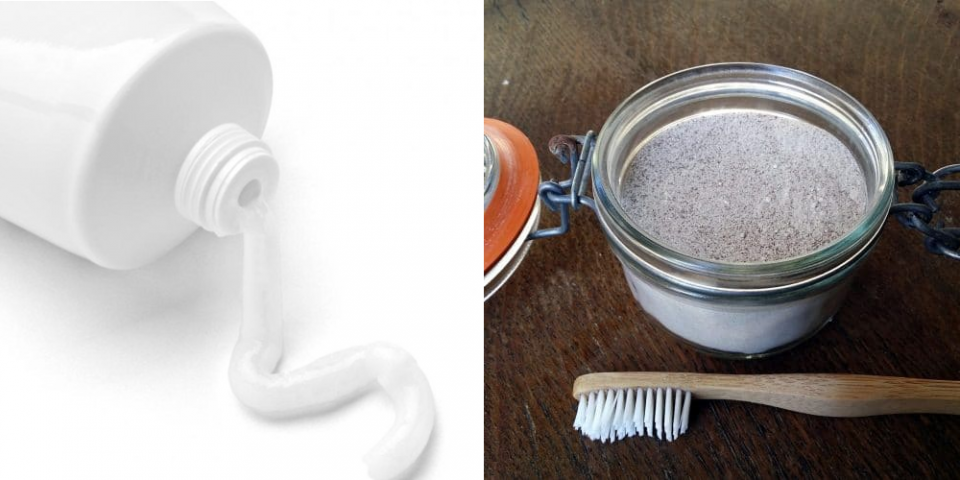 Natural and Organic Tooth Powder vs. Toothpaste
