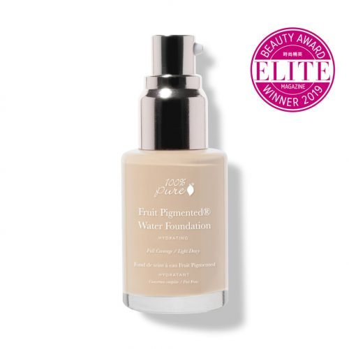 100 Percent Pure is the Full Coverage Fruit Pigmented Foundation
