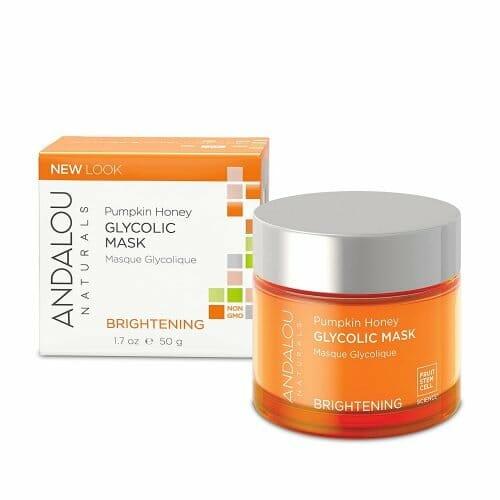 Andalou Naturals' Brightening Pumpkin Honey Glycolic Mask