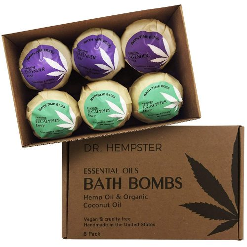 Dr. Hempster Essential Oils Bath Bombs