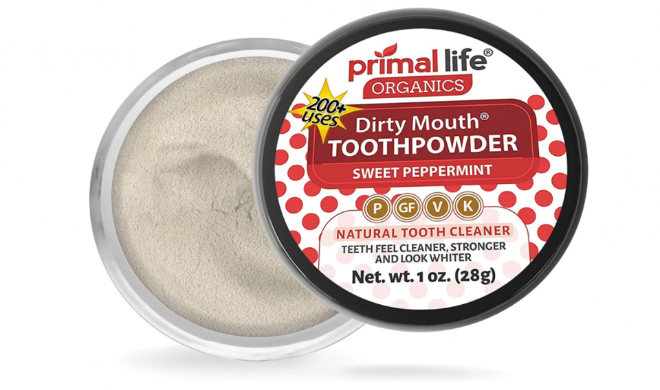 Primal Life Organics Dirty Mouth Tooth Powder Review