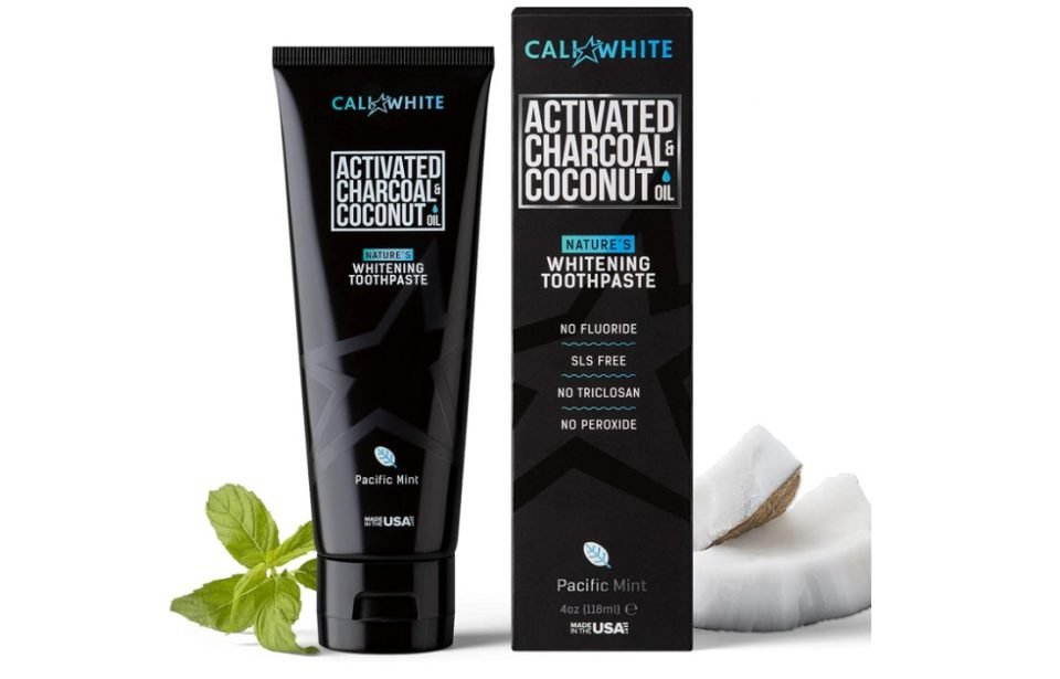 Cali White Activated Charcoal Organic and Vegan Whitening Toothpaste Review