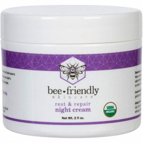 BeeFriendly Natural USDA Certified Organic Night Cream