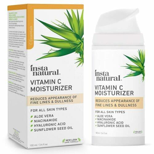 InstaNatural Vitamin C Moisturizer - Anti Aging & Wrinkle Cream