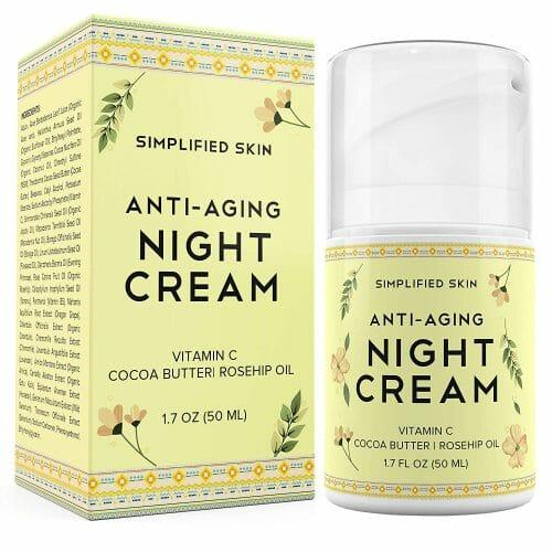 Simplified Skin Anti-Aging Night Cream
