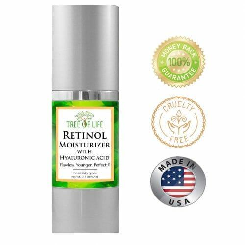 Tree of Life Retinol Clinical Strength Anti Aging Face Cream