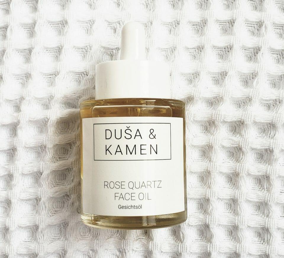 Dusa and Kamen Rose Quartz Face Oil Review
