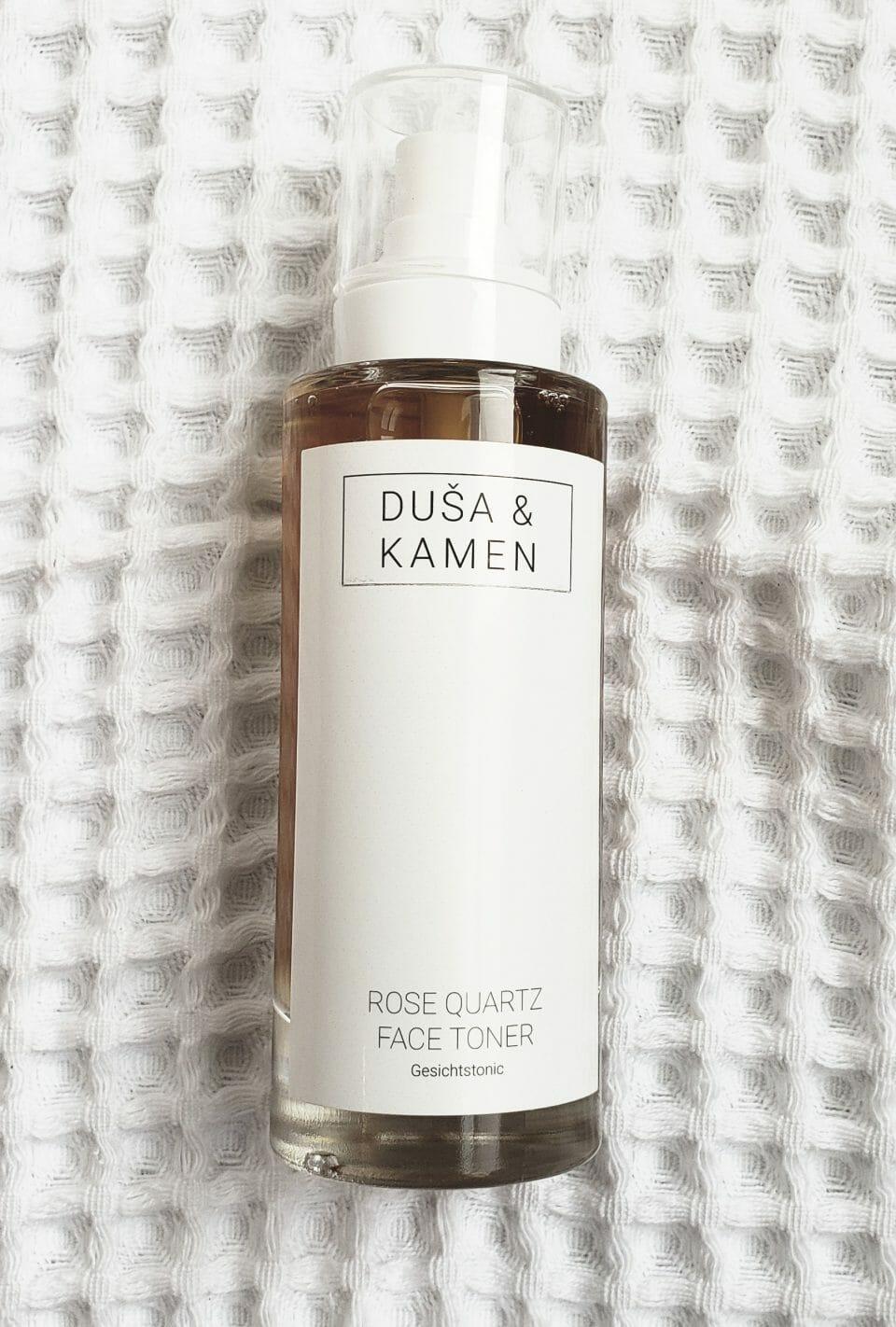 Dusa and Kamen Rose Quartz Facial Toner Review