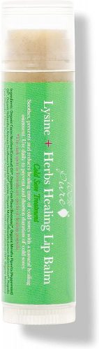 100% PURE Lysine + Herbs Healing Lip Balm