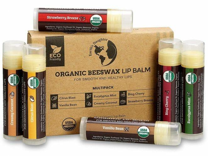 Earth's Daughter Organic Beeswax Lip Balm
