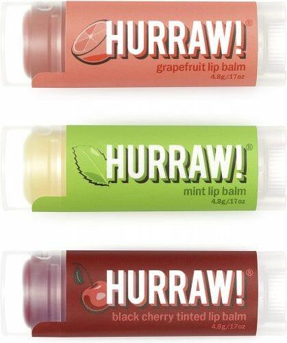 Hurraw! Tinted Lip Balms