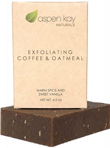 Aspen Kay Naturals Coffee and Oatmeal Exfoliating Soap Bar
