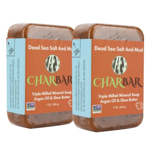 Charbar Dead Sea Mud Mineral Soap Bars