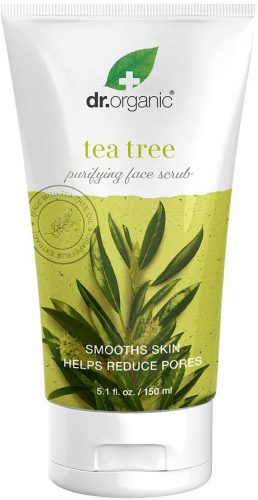 Dr.Organic Purifying Gentle Face Scrub with Organic Tea Tree Oil