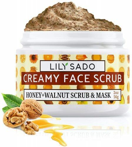 LILY SADO HONEY WALNUT Creamy Face Scrub