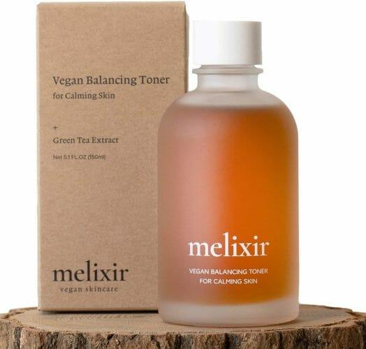 Melixir Vegan Balancing Toner Organic Green Tea Extract