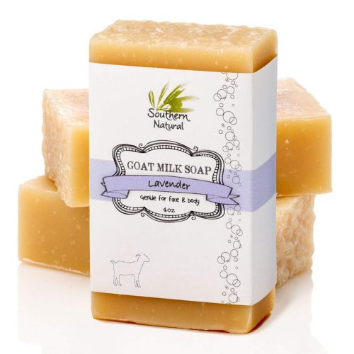 Southern Natural Lavender Goat Milk Soap Bars