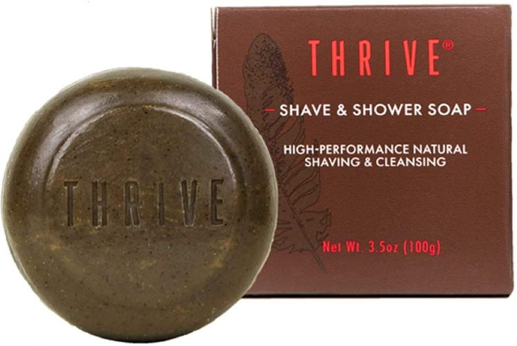 THRIVE Natural Shave Soap