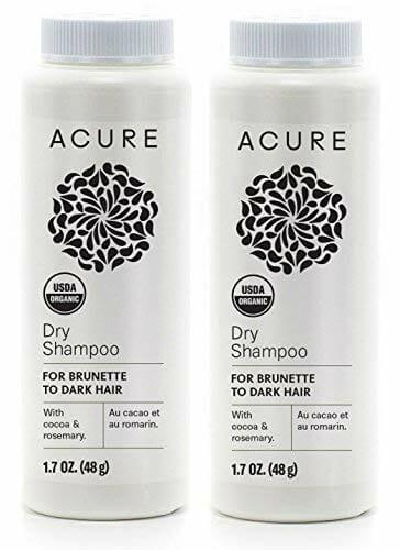 Acure Organics Dry Shampoo For Brunette to Dark Hair
