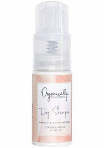 Organically Wonderful Spray Dry Shampoo