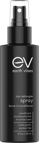 Earth Vibes Natural Hair Detangler, Leave-In Conditioner Spray