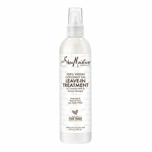 SheaMoisture 100% Virgin Coconut Oil Leave-in Conditioner Treatment