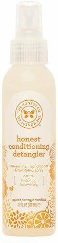 The Honest Company Sweet Orange Vanilla Conditioning Detangler Spray