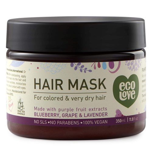 ecoLove - Deep Conditioning Hair Mask for Dry Damaged Hair
